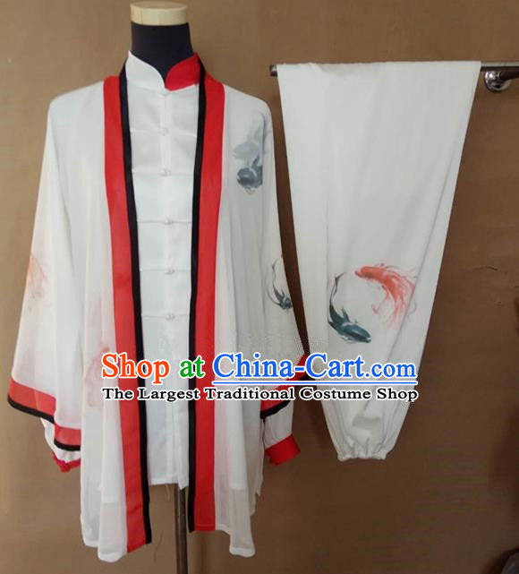 Chinese Traditional Martial Arts Costumes Tai Chi Tai Ji Kung Fu Training Clothing for Adults