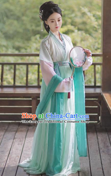 Ancient Chinese Ming Dynasty Princess Replica Costumes Traditional Nobility Lady Hanfu Dress for Rich