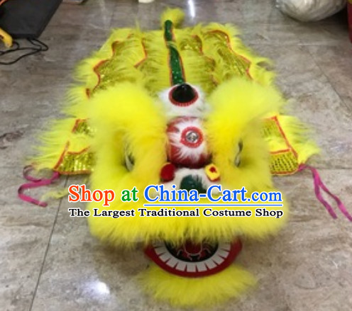 Traditional Chinese One Kid One Child Lion Dance Costume Primary School Middle School