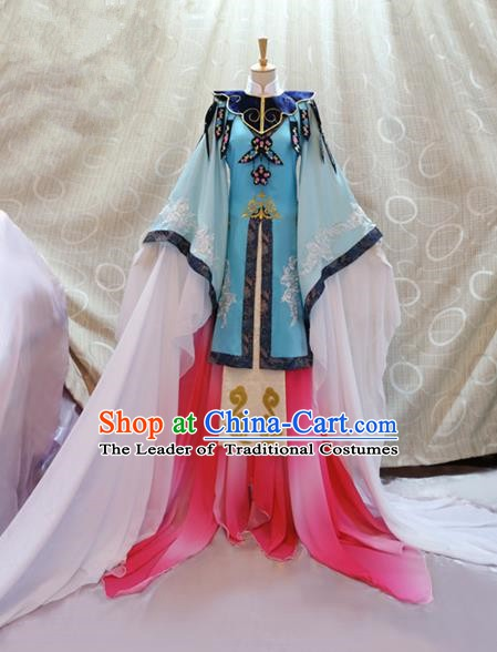 China Ancient Cosplay Princess Clothing Traditional Ming Dynasty Palace Lady Dress for Women