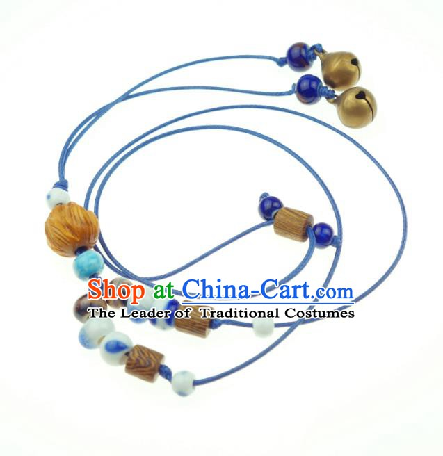 Traditional Chinese Pendant Accessories Bells Necklace for Women