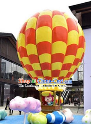Handmade Stage Performance Props Christmas Decorations Hot Air Balloon Lanterns