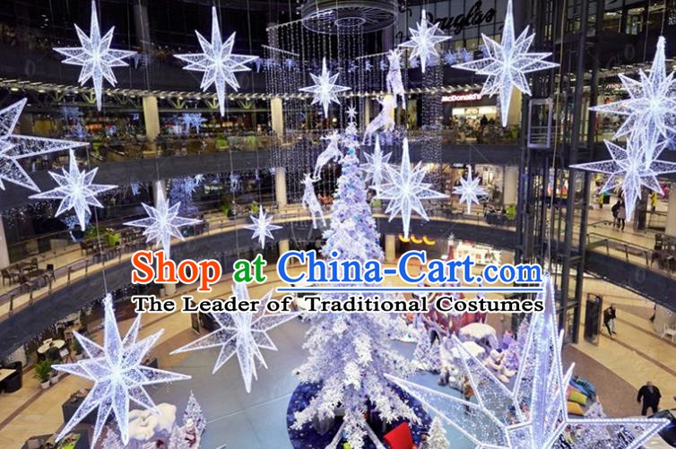 Traditional Show Christmas Tree Light Decorations Lamps Stage Display Lamplight LED Lanterns