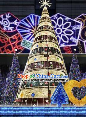 Traditional Handmade Christmas Shiny Decorations Large Christmas Tree Lights Lamplight LED Lamp Lanterns
