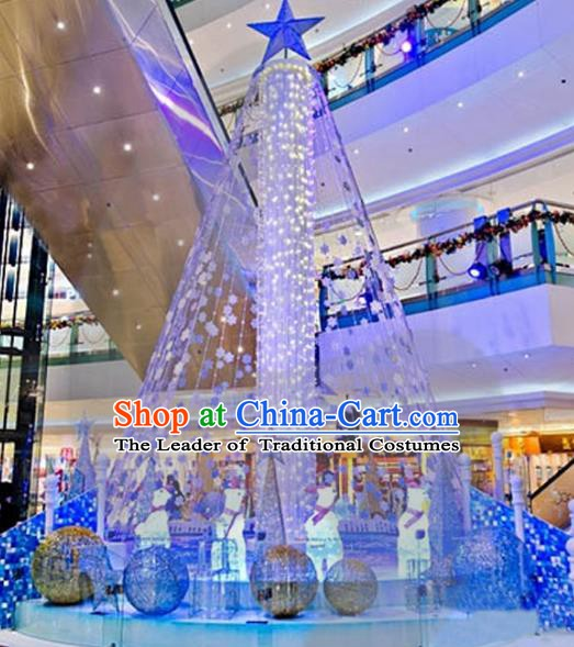Traditional Handmade Christmas Lights Decorations Shiny Christmas Tree Sea Lamplight LED Lanterns