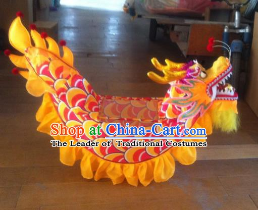 Chinese Traditional Children Land Boat Dance Props Professional Celebration Parade Dragon Boat