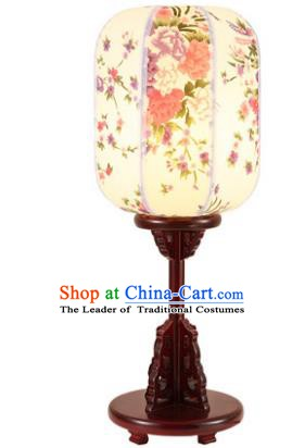 Traditional Asian Chinese Desk Lanterns China Ancient New Year Printing Lamp Palace Lantern