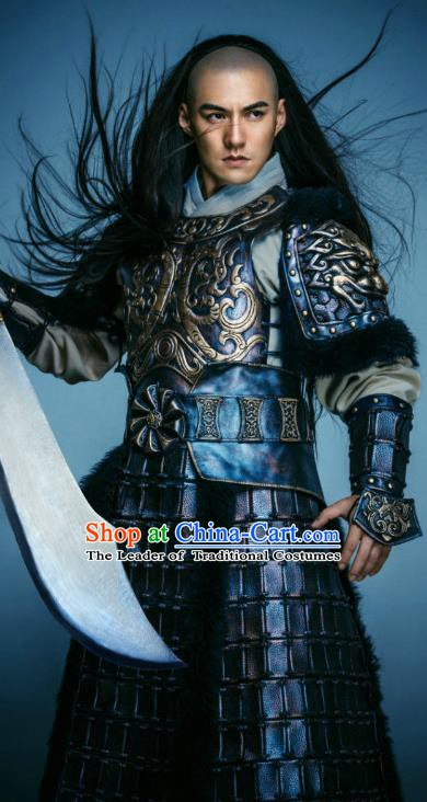 Chinese Qing Dynasty Prince Regent Dorgon Historical Costume Ancient Manchu Aixinjueluo Dorgon Clothing for Men