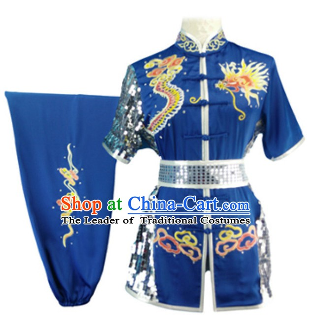 Top Dragon Embroidery Best and the Most Professional Kung Fu Clothing Suit