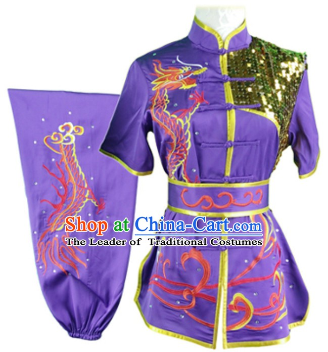 Top Changquan Nanquan Long Fist Southern Fist P Short Sleeves Best and the Most Professional Kung Fu Competition Clothes Contest Suits