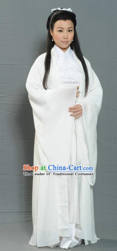 Ancient Chinese Ming Dynasty Swordswoman Dress Fairy Historical Costume for Women