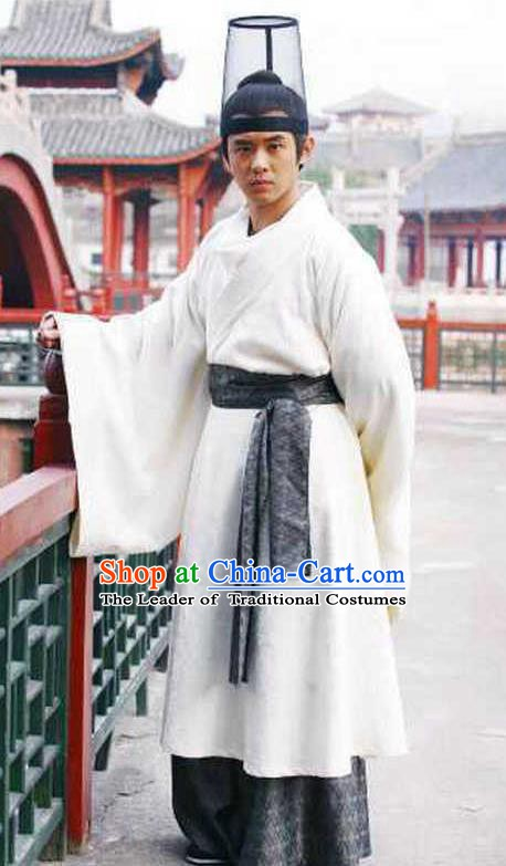 Traditional Chinese Ancient Tang Dynasty Imperial Bodyguard Replica Costume for Men
