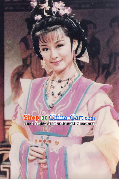 Chinese Ancient Tang Dynasty Dress Palace Queen Wu Zetian Historical Costume for Women