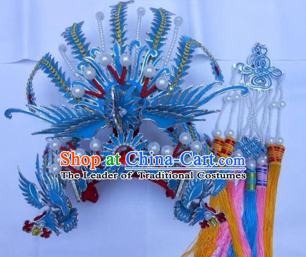 Traditional Chinese Beijing Opera Hair Accessories Princess Phoenix Coronet Peking Opera Actress Headwear
