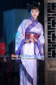 Chinese Ancient Han Dynasty Imperial Concubine Hanfu Dress Replica Costume for Women