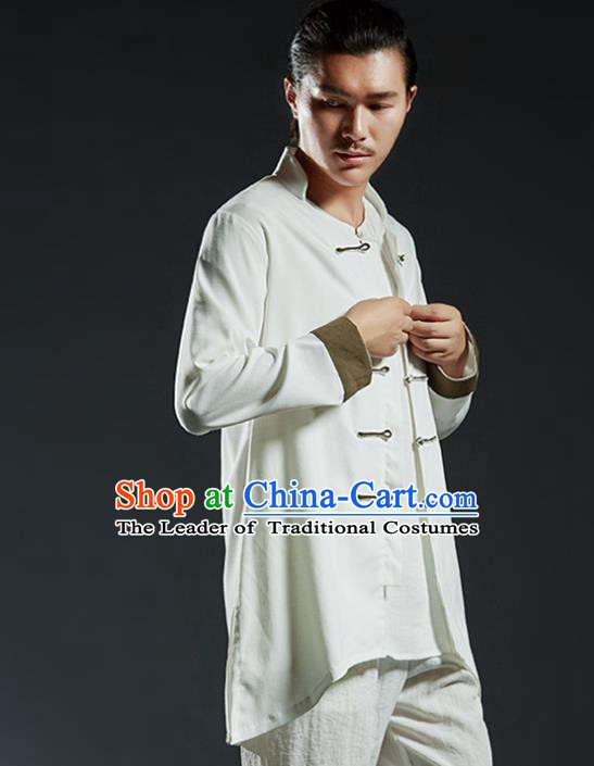 Chinese Kung Fu Martial Arts Jacket Gongfu Costume Wushu Tai Chi Clothing for Men