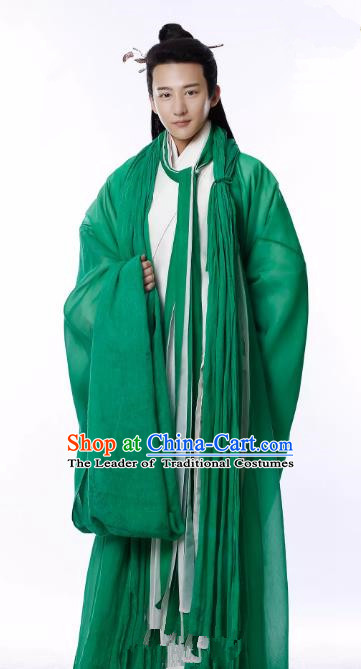 Untouchable Lovers Chinese Ancient Southern and Northern Dynasties Nobility Childe Replica Costume for Men