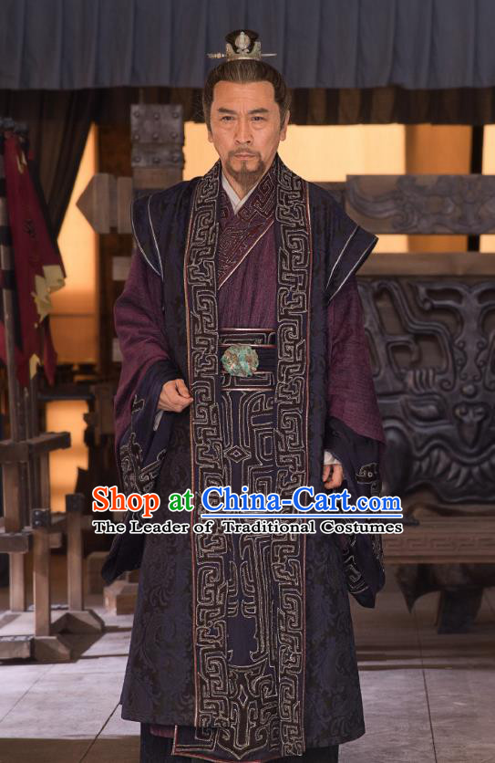 Nirvana in Fire II Chinese Ancient Knight-errant Swordsman Lin Chen Embroidered Historical Costumes for Men
