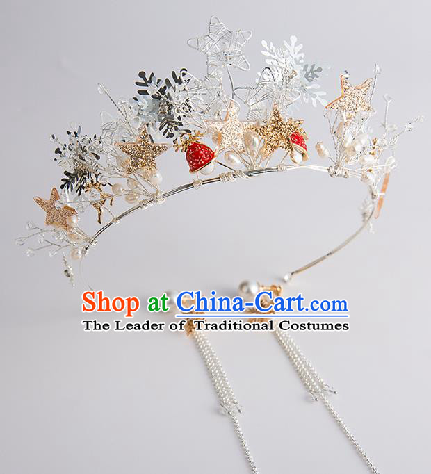 Baroque Bride Hair Accessories Princess Royal Crown Wedding Classical Imperial Crown for Women