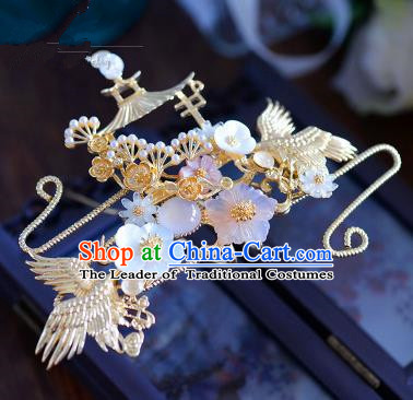 Ancient Chinese Handmade Hair Accessories Xiuhe Suit Hairpins Hair Stick for Women
