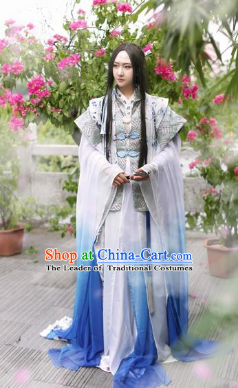 Chinese Ancient Prince Costume Ming Dynasty Nobility Childe Young Swordsman Clothing for Men
