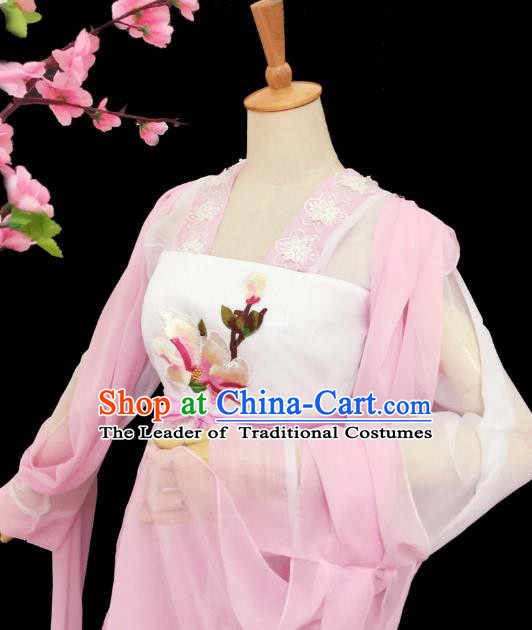 Chinese Ancient Swordsman Hanfu Han Dynasty Imperial Concubine Queen Embroidered Historical Costumes