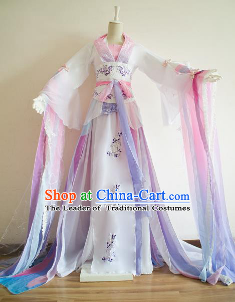 Chinese Traditional Han Dynasty Princess Hanfu Dress Ancient Cosplay Imperial Consort Costume for Women