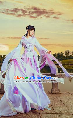 Chinese Traditional Han Dynasty Princess Hanfu Dress Ancient Fairy Clothing for Women