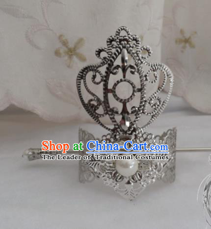 Chinese Traditional Ancient Prince Hairdo Crown Hair Accessories Swordsman Hairpins for Men