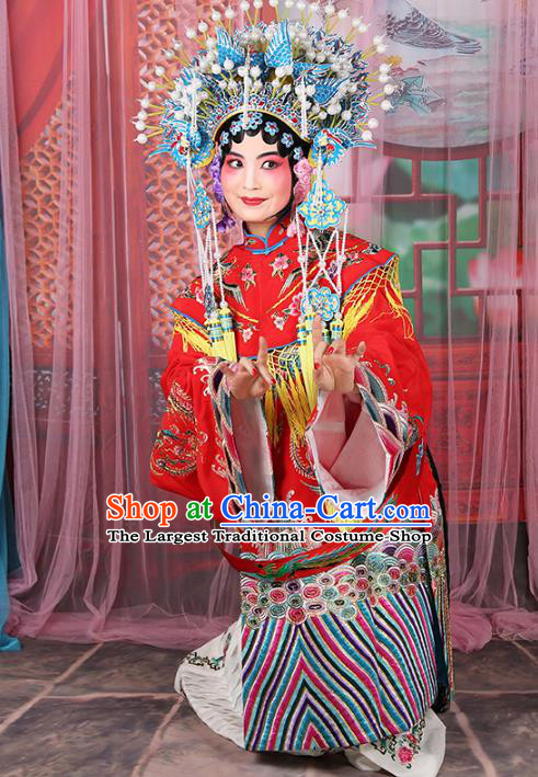 Professional Chinese Beijing Opera Imperial Consort Costumes Ancient Huangmei Opera Actress Clothing for Adults