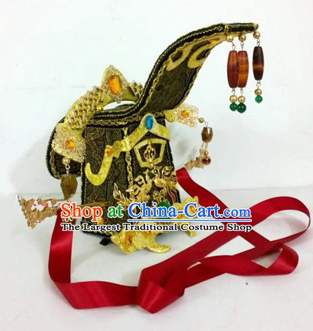 Chinese Ancient Handmade Queen Phoenix Coronet Hair Accessories Headwear for Women