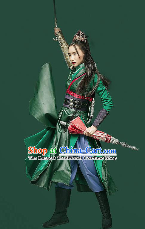 Chinese Ancient Swordswoman Hanfu Clothing Female Assassin Costumes for Women