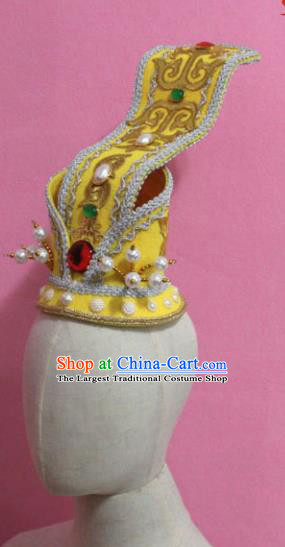 Chinese Traditional Tang Dynasty King Jewel Hairdo Crown Ancient Emperor Hair Accessories for Men