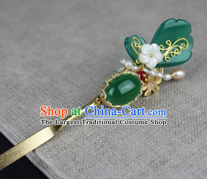Chinese Ancient Handmade Hanfu Butterfly Hair Clip Hairpins Hair Accessories for Women