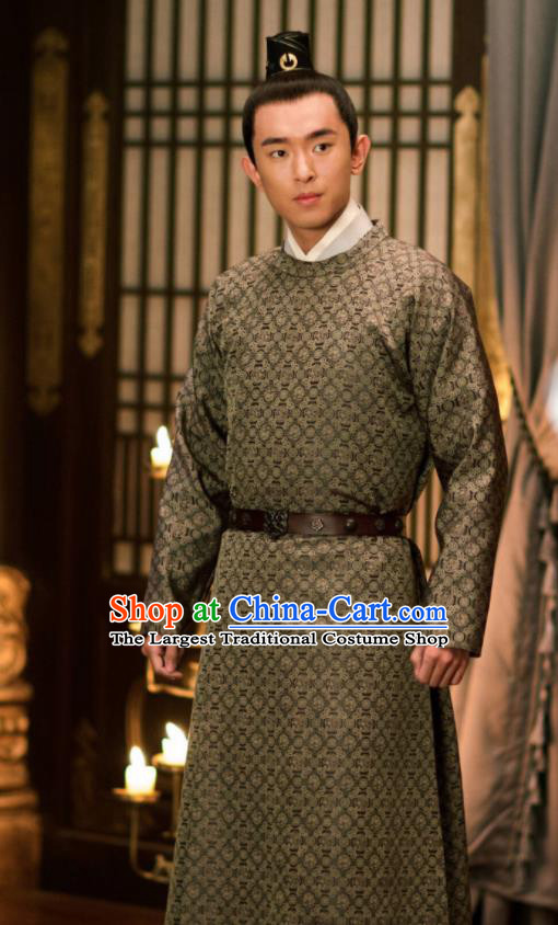 The Rise of Phoenixes Ancient Chinese Tang Dynasty Swordsman Prince Costume for Men