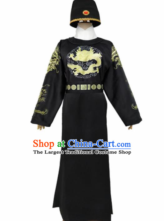 Chinese Tang Dynasty Imperial Bodyguard Costume Ancient Swordsman Hanfu Clothing for Men