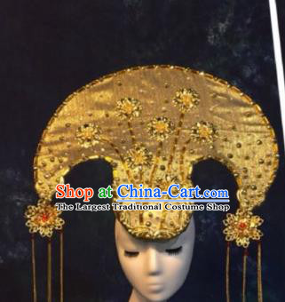 Halloween Cosplay Deluxe Hair Accessories Chinese Traditional Catwalks Hat Headwear for Women