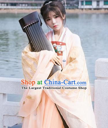Traditional Chinese Tang Dynasty Court Dancer Replica Costumes Ancient Imperial Concubine Hanfu Dress for Women