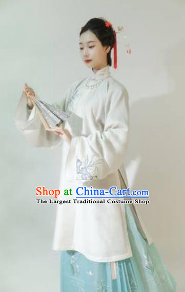 Asian Chinese Ming Dynasty Court Countess Hanfu Dress Traditional Ancient Imperial Concubine Costumes for Women