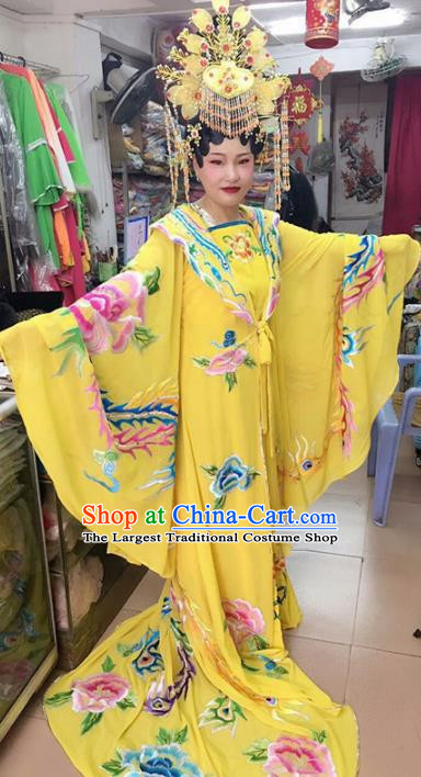 Chinese Traditional Beijing Opera Empress Dress Peking Opera Actress Costume for Adults
