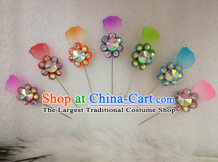Chinese Traditional Beijing Opera Actress Hair Clips Hair Accessories Ancient Princess Hairpins for Adults