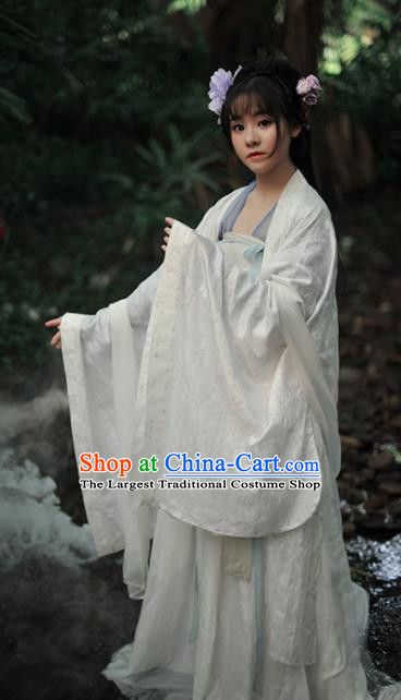 Chinese Ancient Palace Lady Hanfu Dress Tang Dynasty Princess Historical Costume for Women