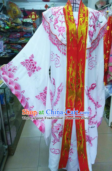 Chinese Traditional Beijing Opera Queen Rosy Dress Peking Opera Actress Costume for Adults