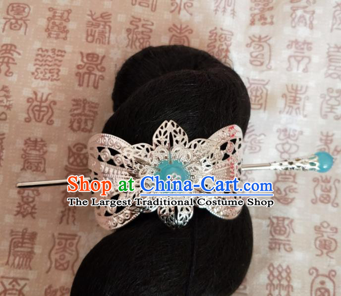 Chinese Traditional Prince Hair Accessories Hairpins Ancient Swordsman Hairdo Crown for Men