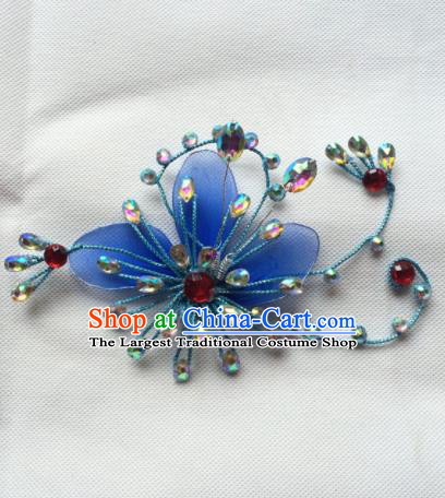 Asian Chinese Beijing Opera Actress Phoenix Coronet Hair Accessories Ancient Princess Hat for Women