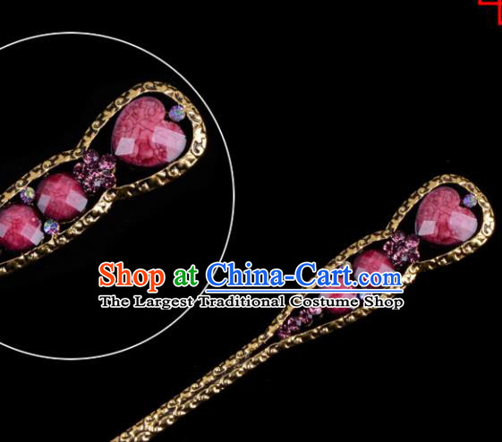 Chinese Beijing Opera Diva Hair Accessories Ancient Peri Hairpins for Women