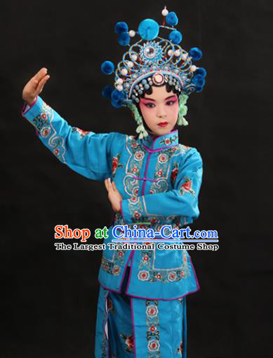 70605a58c Professional_Chinese_Traditional_Beijing_Opera_Blues_Costume_Ancient_Swordswomen_Blue_Clothing_for_Kids.jpg