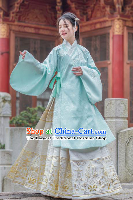 Chinese Ancient Princess Hanfu Dress Traditional Ming Dynasty Palace Historical Costume for Women