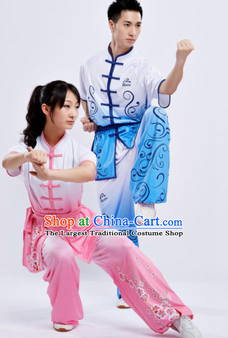 Chinese Traditional Kung Fu Competition Costume Martial Arts Tai Chi Clothing for Women for Men