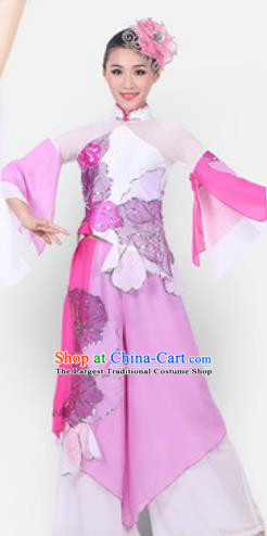 Chinese Traditional Classical Dance Costume Fan Dance Stage Performance Clothing for Women